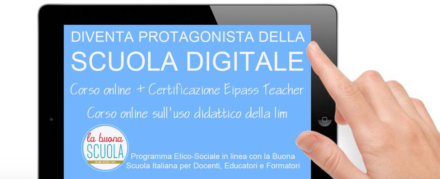 Protagonista della scuola digitale